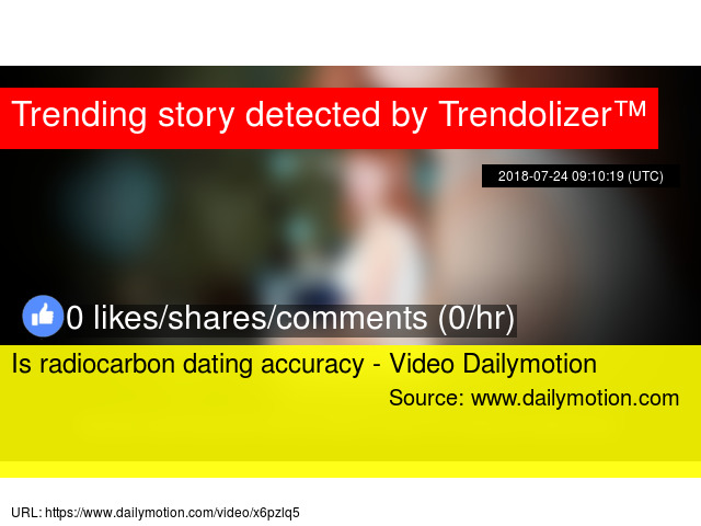 Radiocarbon dating video